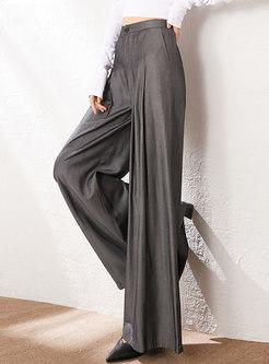 High Waisted Wide Leg Culottes