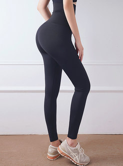 High Waisted Letter Tight Yoga Pants