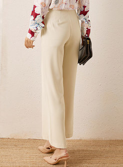 Casual High Waisted Palazzo Pants