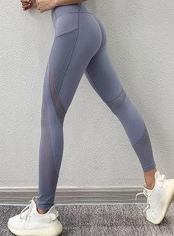 High Waisted Tight Breathable Yoga Pants