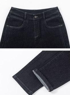 High Waisted Baggy Harem Jeans