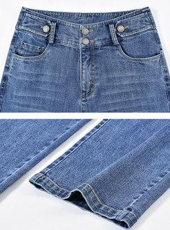 High Waisted Wide Leg Jeans