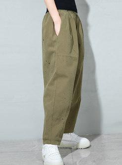 High Waisted Plus Size Harem Pants
