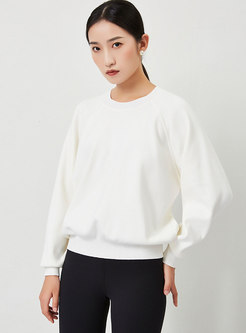 Crew Neck Long Sleeve Pullover Sweater